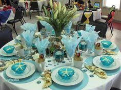 themed tablescapes amazing the sea theme tablescape bcbgeneration stylehaul