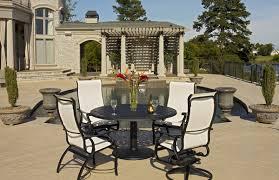 telescope casual furniture fireplace stone patio