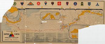 Map Of Concentration Camps In Germany by The Advance Of 6th Armored Division In World War Ii Maps Donated