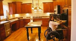Handicap Accessible Kitchen Cabinets by Handicap Kitchen Design North Country Cabinets
