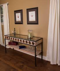 console table design console table with wine rack application