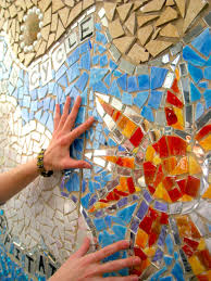 mural outreach philadelphia s magic gardens program criteria kencrest school hands on colorful mosaic mural