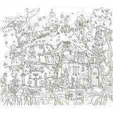 fairy house coloring pages coloring page for kids