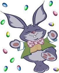 big easter bunny clipart easter bunny and eggs