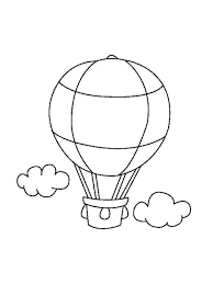 balloon coloring pages 66 best air balloons images on pinterest air balloons