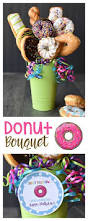donut bouquet gift idea donuts gift and diy ideas