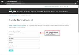 Creating A Business Email Address by How To Create An Account Insights Association