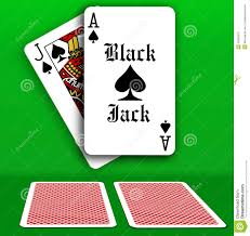 Black Jack Table by Casino Black Jack Table Playing Cards Stock Vector Image 42660518