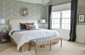 bedroom upholstered beige headboard ideas window treatments