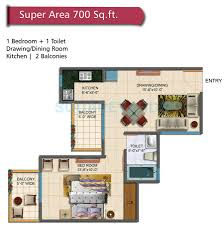 1 bhk 700 sq ft apartment for sale in rudra palace heights at rs