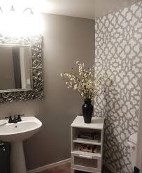 bathroom stencil ideas diy bathroom makeover using stencils stencil stories