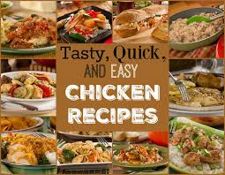 Quick Easy Comfort Food Recipes 14 Tasty Quick U0026 Easy Chicken Recipes Mrfood Com