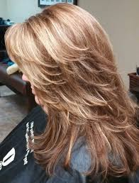 where to place foils in hair foil hair color red brown base color with heavy foils of caramel