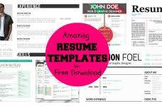 marvelous decoration free creative resume templates microsoft word