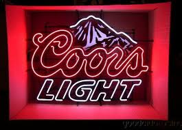 light up beer signs light neon beer sign