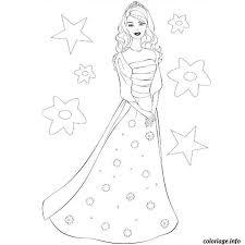 Coloriage Barbie Mode dessin