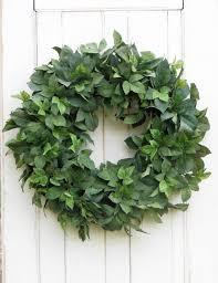 spring wreath summer wreath greenery wreath front door wreath