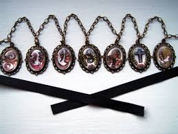 accessories chain necklace images Undertaker black butler waist chain necklace jpg