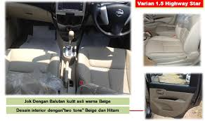 Interior All New Grand Livina All New Nissan Grand Livina Nissan Surabaya Center