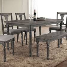 Dining Room For Sale - weathered grey dining table 798