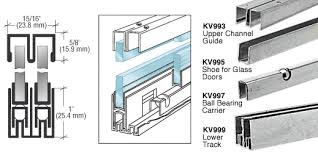 Tracks For Sliding Cabinet Doors Collection In Aluminum Sliding Cabinet Door Track And R Store