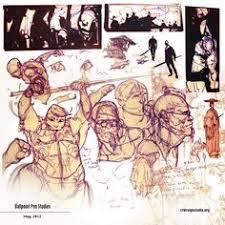 sketch book concept design storyboards illustration anime