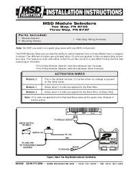 msd 6200 wiring diagram 1968 mustang msd 2 step wiring diagram