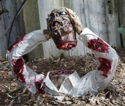 Scary Halloween Decorations For Yard by Halloween Decorations Scary Best 25 Scary Outdoor Halloween