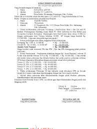 surat perintah kerja spkb