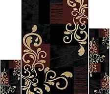 Prism 3 Piece Rug Set Abstract Area Rugs Ebay