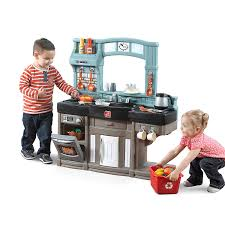 amazon com step2 best chef s toy kitchen playset toys games