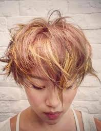 chunky short haircuts 20 best short hair with highlights chunky highlights short hair