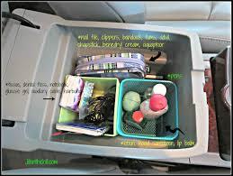 a clean u0026 organized car
