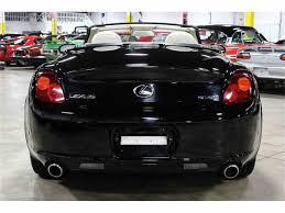 lexus sc430 used cars for sale 2003 lexus sc430 for sale classiccars com cc 968032