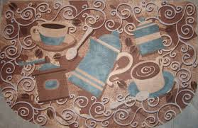 themed rug coffee themed kitchen rugs kitchen design