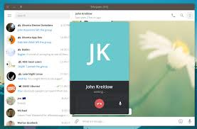 Telegram Web The Telegram Desktop App Now Supports Voice Calls Omg Ubuntu