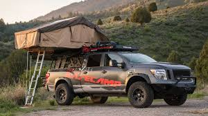 nissan titan xd lifted nissan titan xd project basecamp is for backcountry explorers