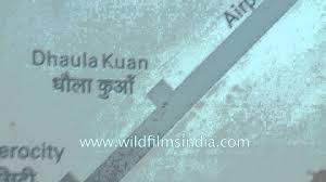 Metro Blue Line Map Delhi by Airport Express Route Map At Dhaula Kuan Metro Station Youtube