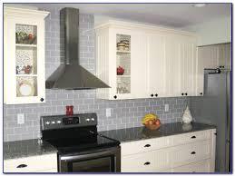 white glass subway tile kitchen backsplash tiles home design