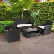 Black Iron Outdoor Furniture by Wrought Iron Patio Sets
