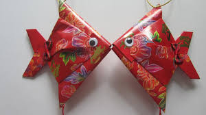 Diy New Year Decorations 2016 by Cny Tutorial No 28 Small Red Packet Hongbao Fish Chinese