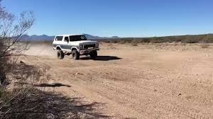 prerunner bronco for sale fast long travel bronco at sycamore creek youtube