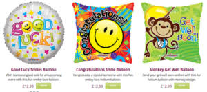 luck balloon delivery helium balloons by post 12 99 helium balloon delivery uk