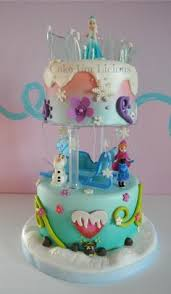 frozen cake olaf cake filled vanillasponge