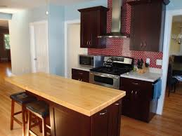 kitchen island wood countertop butcher block and wood countertops hgtv