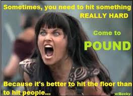 Exercise Meme - pound class rockout workout fitness funny fun exercise meme
