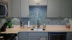 decorating interesting grey backsplash for interior kitchen