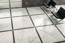 indoor tile floor porcelain stoneware polished marvel black and