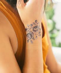 girls wrisat rose tattoo ideas rose tattoos tattoo and rose