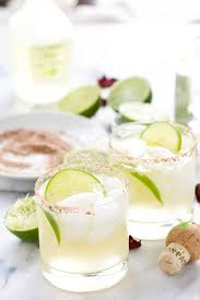spicy rosa picante margarita with salt and wit